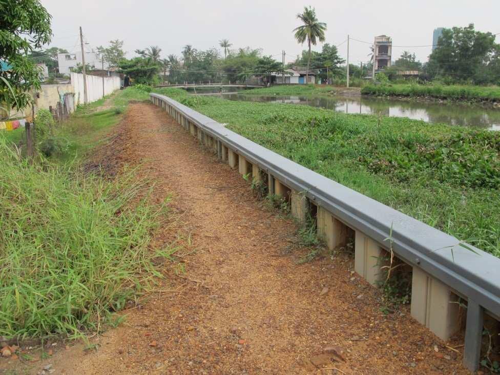 Sheet Pile Floodwall Design Hochwasserschutz Mobil Und